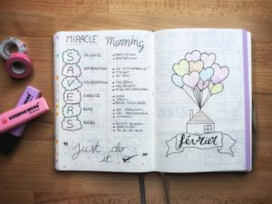 miracle morning bujo