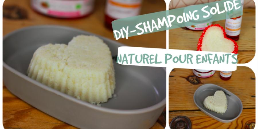 recette shampoing solide enfants bio