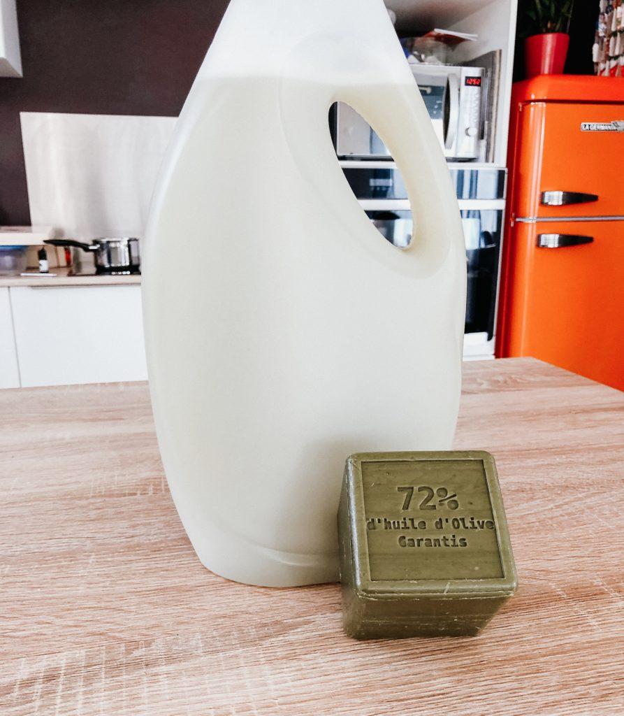 lessive maison savon de Marseille recette